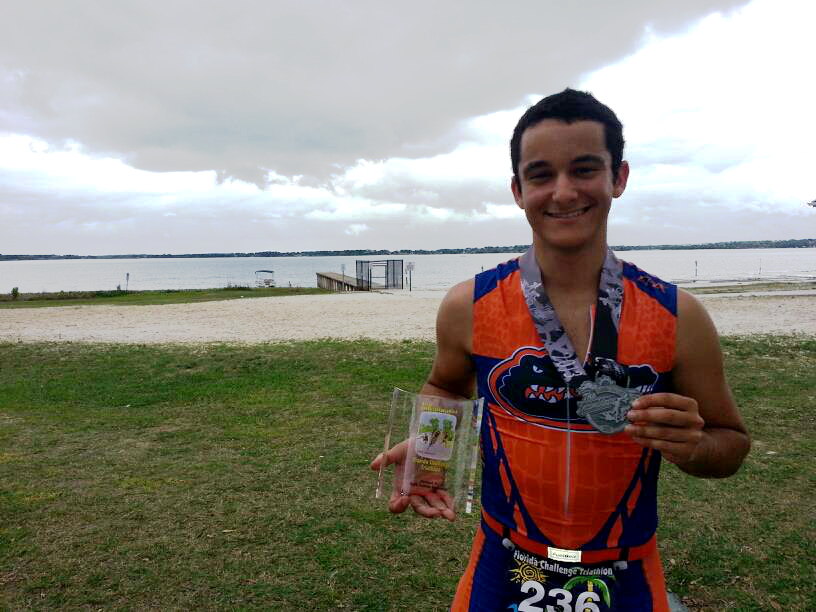 David Nassau's 1st Place Half Ironman
