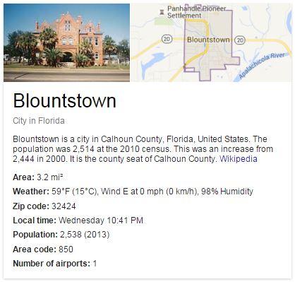 Blountstown, FL