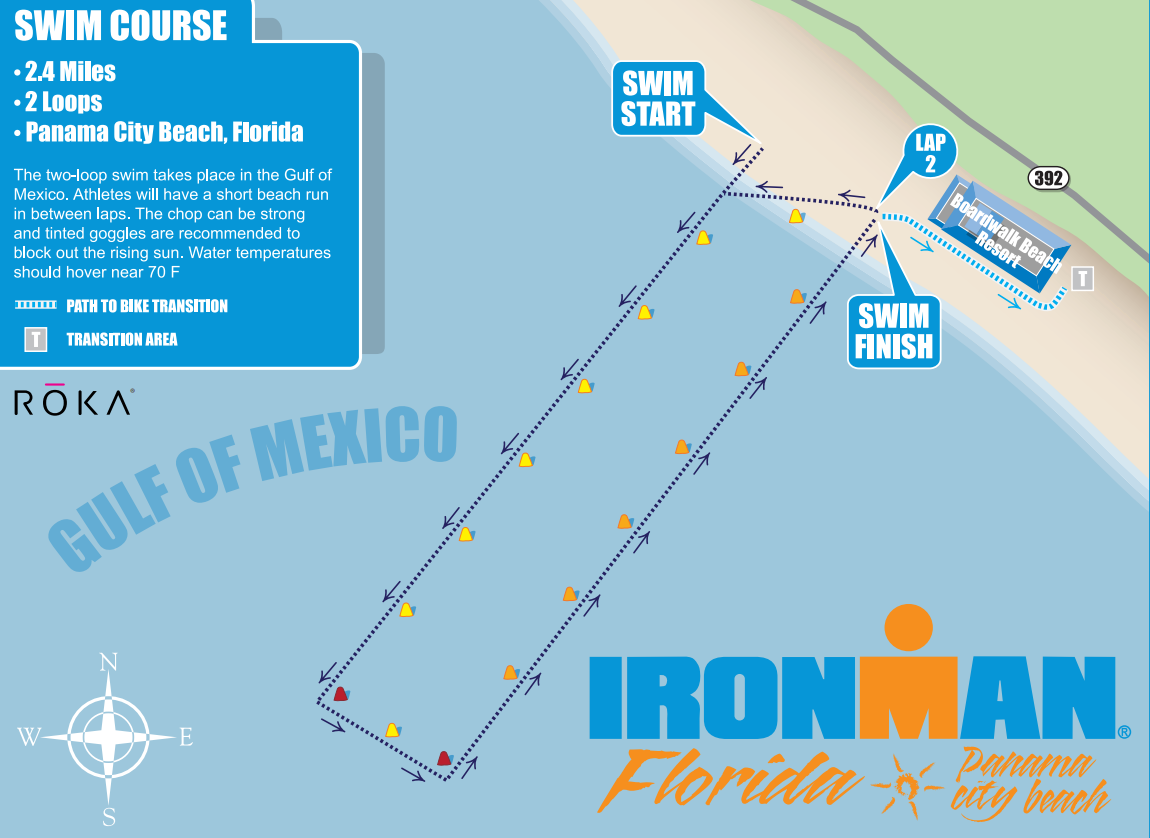 Ironman Florida Swim