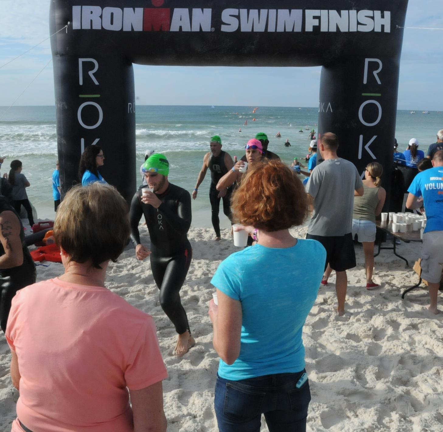 David Nassaou Ironman Florida Swim