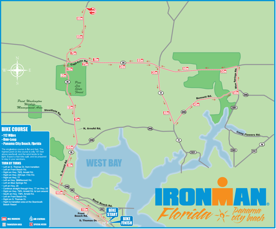 Florida Ironman Bike Course David Nassau