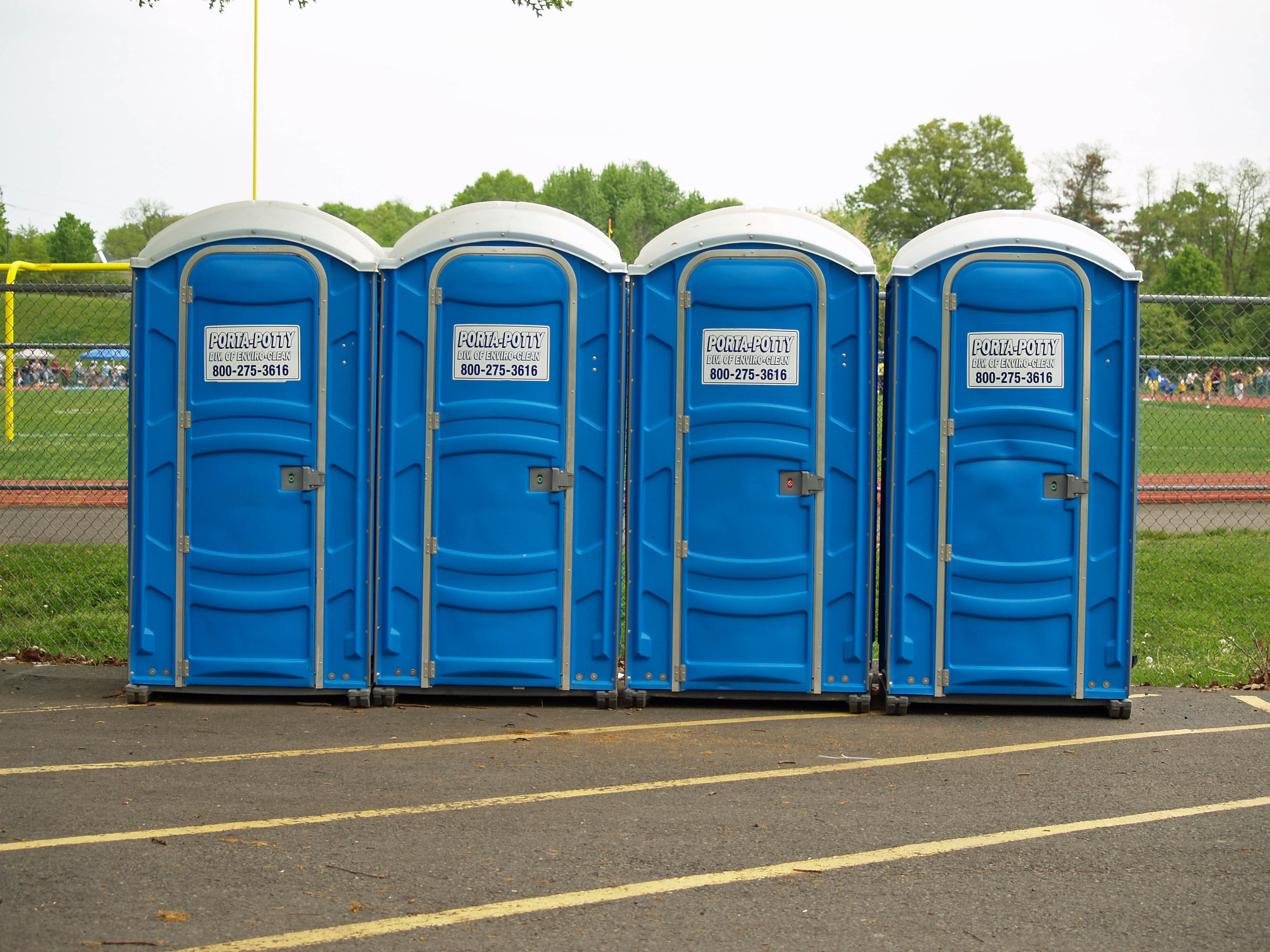 David Nassau Ironman Triathlete port o potty